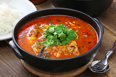Moqueca, brazilian fish stew Stock Photo