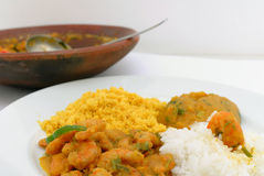 Moqueca de Camarao Stock Photos