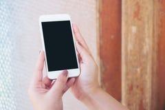 Moquerie de téléphone intelligent Photographie stock libre de droits