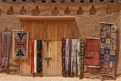 Moquette marocchine tradizionali Immagine Stock Libera da Diritti