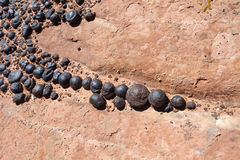 Moqui Marbles Stock Images