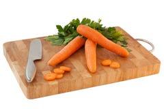 Morötter och parsley Arkivfoton