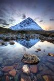 Mor Шотландия Buachaille Etive стоковые фотографии rf