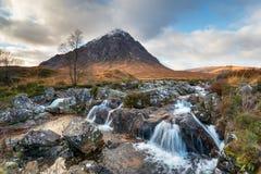 Mor Buachaille Etive в Шотландии стоковые фотографии rf