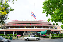Mor Chit Bus Terminal of de Busterminal van Bangkok (Chatuchak) Stock Foto's