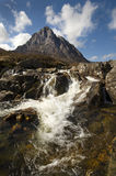 MOR de Buachaille Etive Photo stock