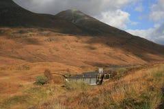 MOR di Eilde del lago, Kinlochleven, Scozia Immagini Stock