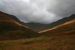 MOR di Eilde del lago, Kinlochleven, Scozia Fotografie Stock Libere da Diritti