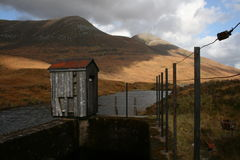 Mor Eilde озера, Kinlochleven, Шотландия Стоковая Фотография RF