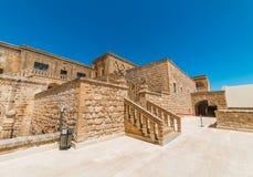 Mor Gabriel Monastery em Midyat, Mardin Turquia imagem de stock