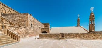 Mor Gabriel Monastery em Midyat, Mardin Turquia fotografia de stock royalty free