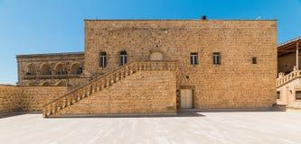 Mor Gabriel Monastery em Midyat, Mardin Turquia imagem de stock royalty free