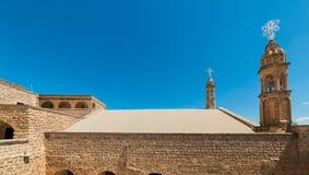 Mor Gabriel Monastery em Midyat, Mardin Turquia fotos de stock