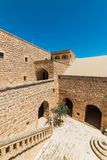Mor Gabriel Monastery em Midyat, Mardin Turquia foto de stock