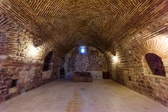 Mor Gabriel Monastery em Midyat, Mardin Turquia fotografia de stock