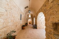 Mor Gabriel Monastery em Midyat, Mardin Turquia foto de stock royalty free