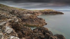 Mor Hafan y, северное Уэльс Стоковая Фотография