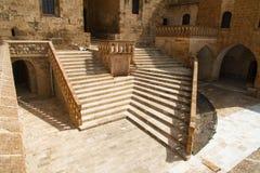 Mor Hananyo Monastery em Mardin fotografia de stock