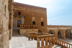 Mor Hananyo Monastery em Mardin fotos de stock