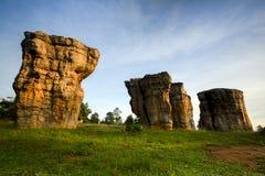 Mor Hin Khao Chaiyaphum Stone Henge von Thailand Lizenzfreie Stockfotografie