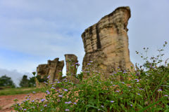 Mor Hin Khao, Stonehenge of Thailand, Chaiyaphum Royalty Free Stock Photos
