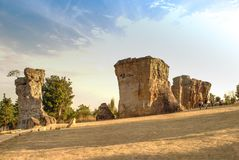 MOR HIN KHAOW [CHAIYAPHUM - перемещение, stonehenge Стоковое Фото
