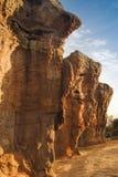 MOR HIN KHAOW [CHAIYAPHUM - loppet, stonehenge Arkivbilder