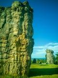 MOR HIN KHAOW. Chaiyaphum province or the Stonehenge of Thailand stock photos