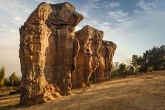 MOR HIN KHAOW [ CHAIYAPHUM - Trave Royalty Free Stock Images