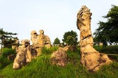 Mor-hinkhao, stonehenge av Thailand Royaltyfria Foton