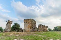Mor-hinkhao (stonehenge av Thailand ), Royaltyfria Bilder