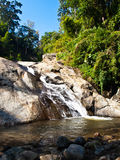 Mor Pang waterfall in Pai, Mae hong son, Thailand Royalty Free Stock Photo