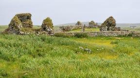 Mor Tobha αρχαία παρεκκλησια Στοκ εικόνες με δικαίωμα ελεύθερης χρήσης