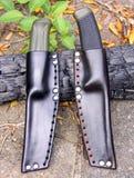 Mora Clipper 860 And 510 MG Knives Royalty Free Stock Image