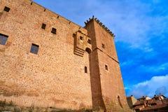 Mora De Rubielos Castle In Teruel Spain Royalty Free Stock Photo