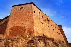 Mora De Rubielos Castle In Teruel Spain Stock Photo