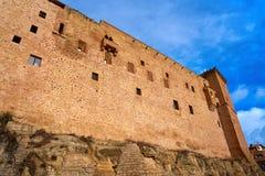 Mora De Rubielos Castle In Teruel Spain Royalty Free Stock Photos