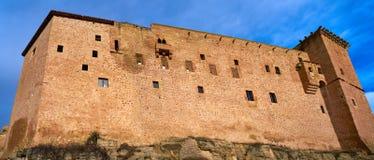 Mora De Rubielos Castle In Teruel Spain Stock Images