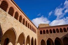 Mora De Rubielos Castle In Teruel Spain Stock Photos