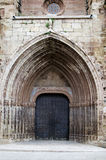 Mora de Rubielos, igreja paroquial Foto de Stock Royalty Free