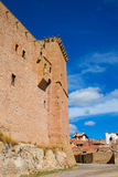 Mora de Rubielos Teruel Muslim Castle in Aragon Spain Royalty Free Stock Photo