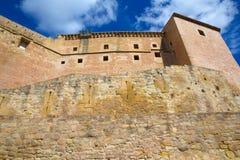Mora De Rubielos Teruel Muslim Castle In Aragon Spain Royalty Free Stock Photo