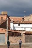 Mora de Rubielos village,Teruel Stock Image
