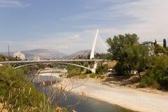 Moraca桥梁 免版税库存照片
