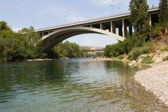 Moraca桥梁 图库摄影