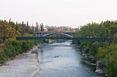 Moraca bridges Royalty Free Stock Image