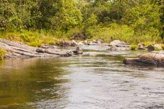 Morada gör solenoid-vattenfallet i chapada gör veadeiros fotografering för bildbyråer