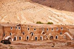 Moradias de caverna do troglodita Fotografia de Stock Royalty Free