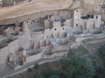 Moradias de penhasco do Mesa Verde Fotos de Stock