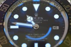 Morador do alto mar do mar de Rolex da imagem conservada em estoque Fotografia de Stock Royalty Free
